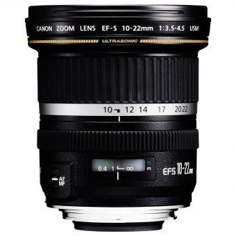 Canon EF-S 10-22mm f/3.5-4.5 USM Wide Angle Lens