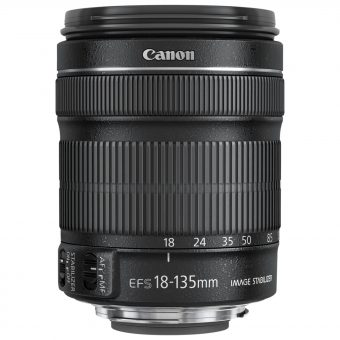 Canon EF-S 18-135mm f/3.5-5.6 IS STM Telephoto Lens