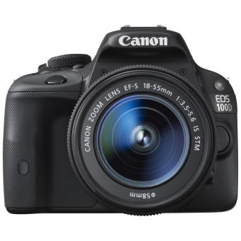Canon EOS 100D Digital SLR Camera with 18-55 IS STM Lens