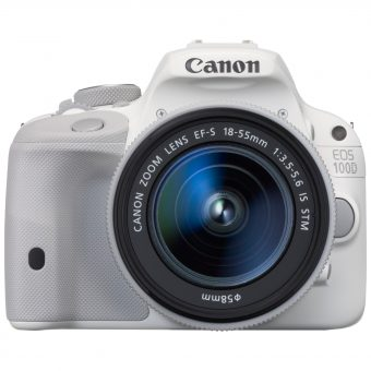 Canon EOS 100D Digital SLR Camera with 18-55mm IS STM Lens