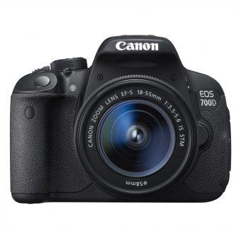 Canon EOS 700D Digital SLR Camera with 18-55mm STM & 55-250mm Lenses