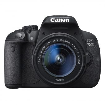 Canon EOS 700D Digital SLR Camera with 18-55mm STM Lens