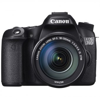 Canon EOS 70D Digital SLR Camera with 18-135mm IS STM Lens