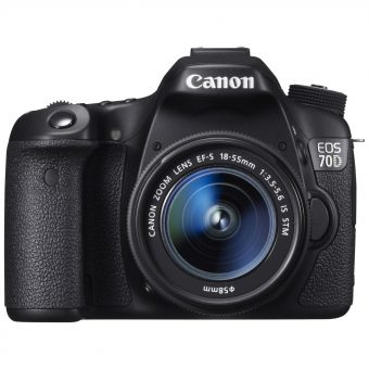 Canon EOS 70D Digital SLR Camera with 18-55mm IS STM Lens