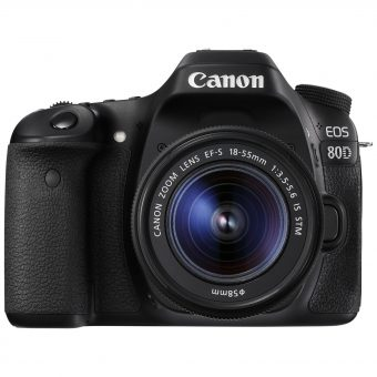 Canon EOS 80D Digital SLR Camera With 18-55mm Lens