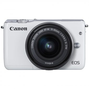 Canon EOS M10 Compact System Camera with EF-M 15-45mm f/3.5-6.3 IS STM Wide Angle Zoom Lens