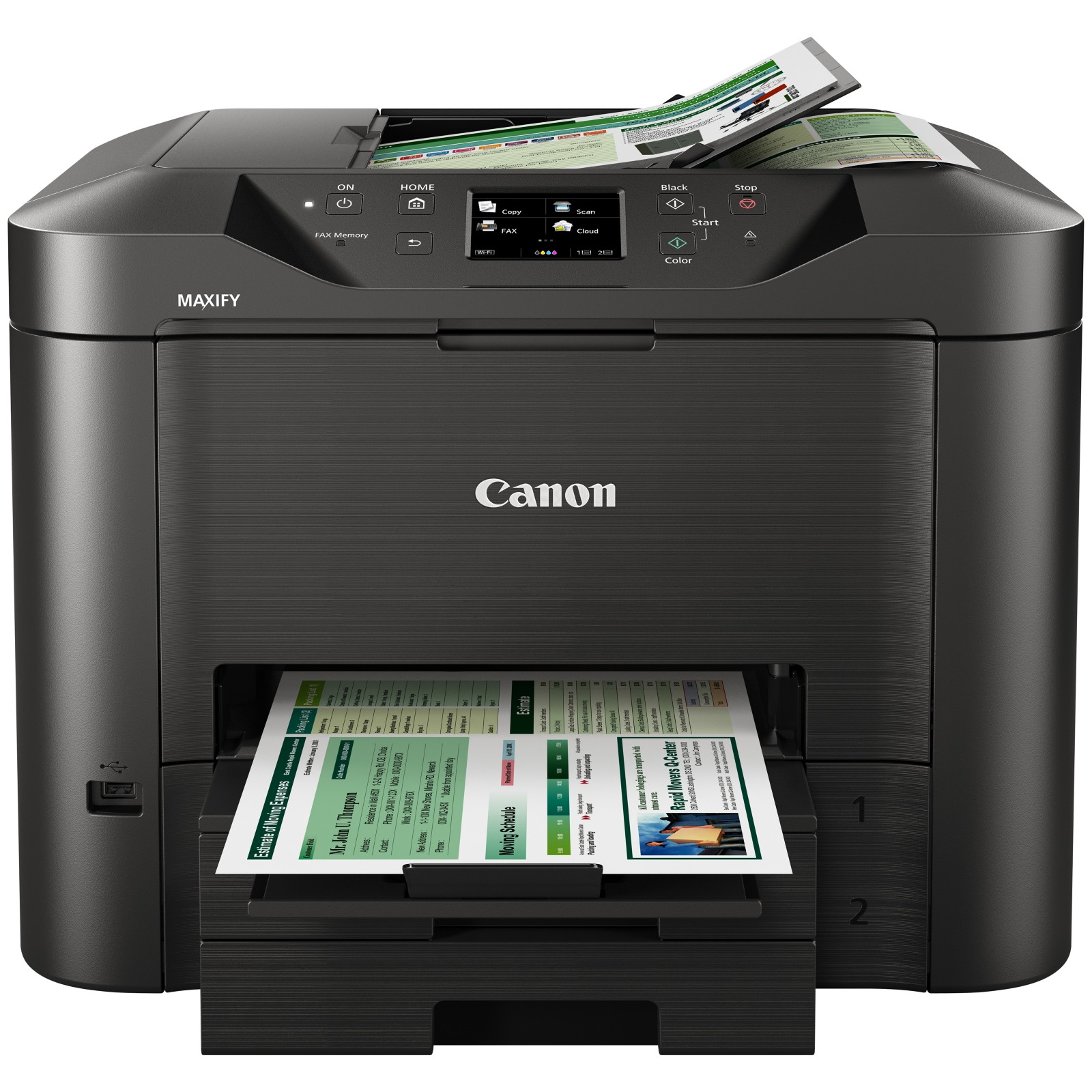 Canon MAXIFY MB5350 Wireless All-In-One Printer