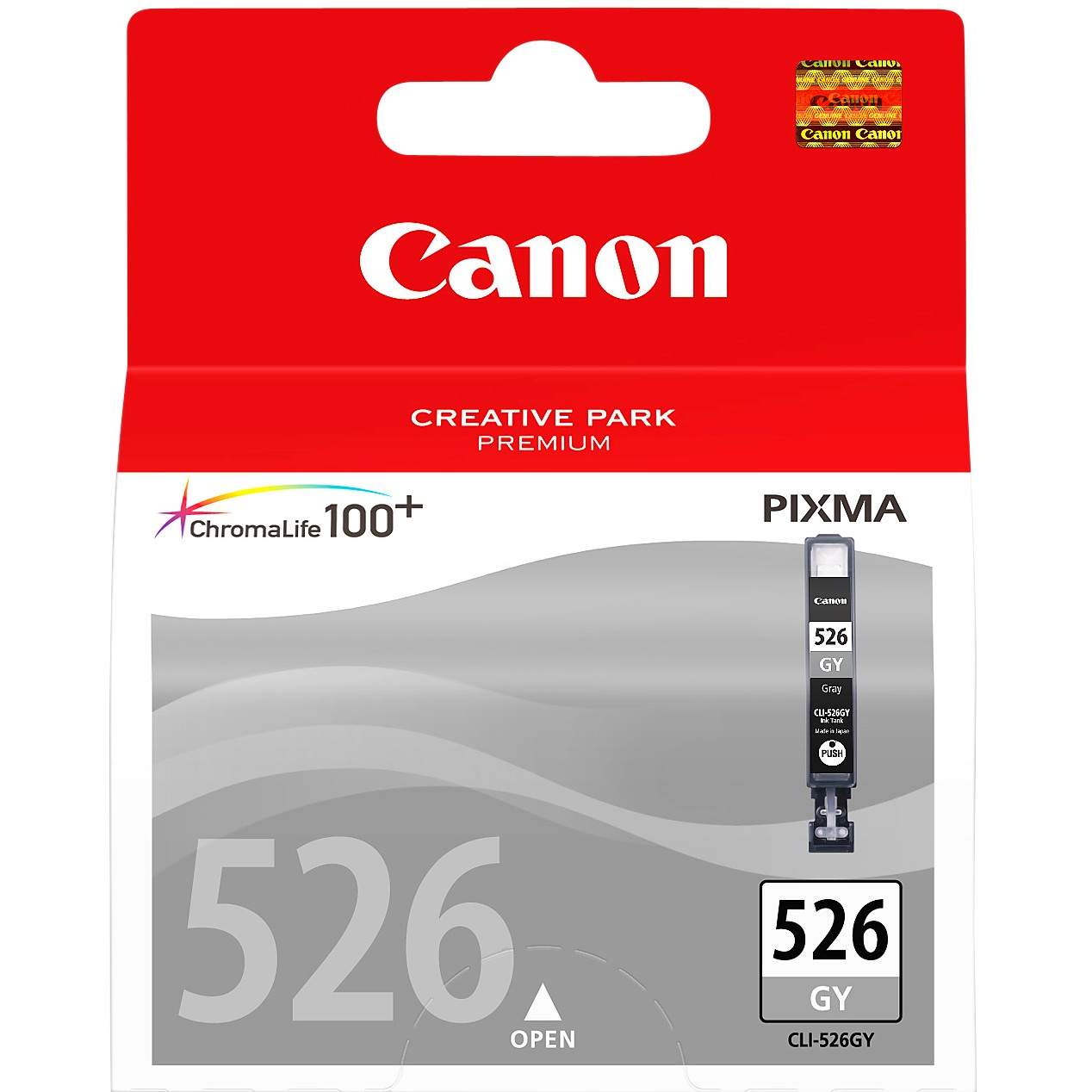 Canon PIXMA CLI-526GY Inkjet Cartridge