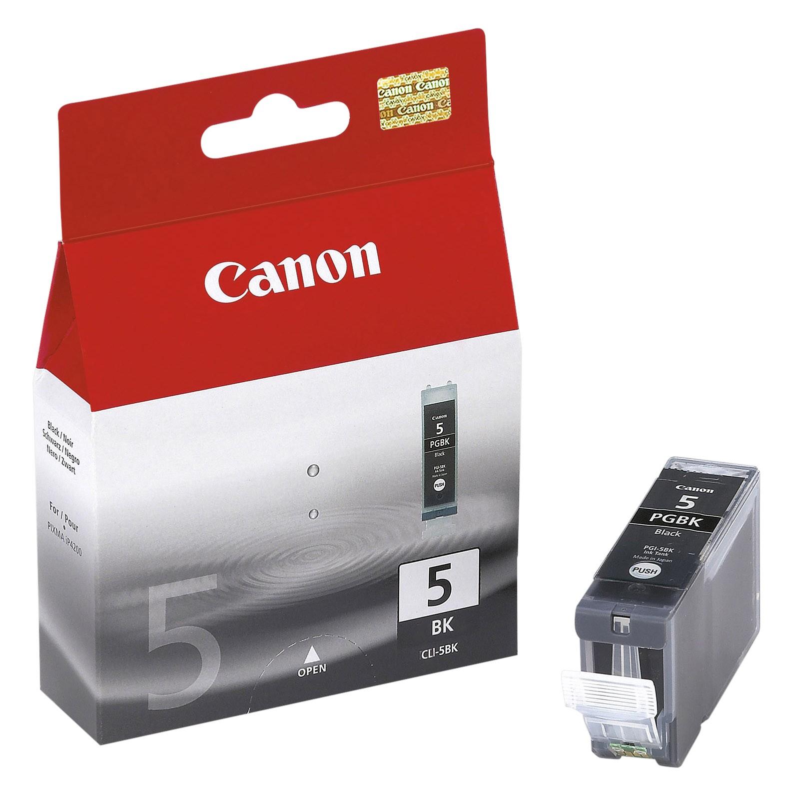 Canon PIXMA PGI-5BK Inkjet Cartridge
