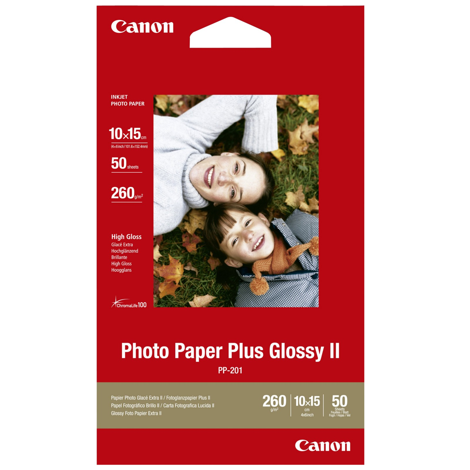 Canon PP-201 Glossy Photo Paper