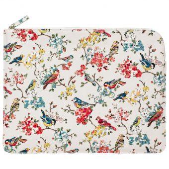 """Cath Kidston Blossom Bird Sleeve for 13"""" Laptops"""