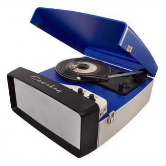 Crosley Collegiate USB Turntable Blue