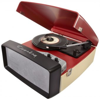 Crosley Collegiate USB Turntable Cream