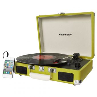 Crosley Cruiser Turntable With Three Speeds