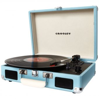 Crosley Cruiser Turntable With Three Speeds Teal