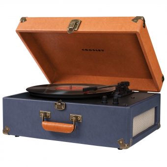 Crosley Keepsake USB Turntable Blue/Tan