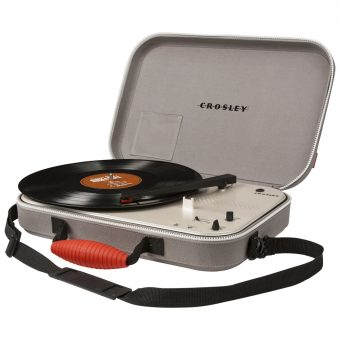 Crosley Messenger Portable Turntable With Three Speeds