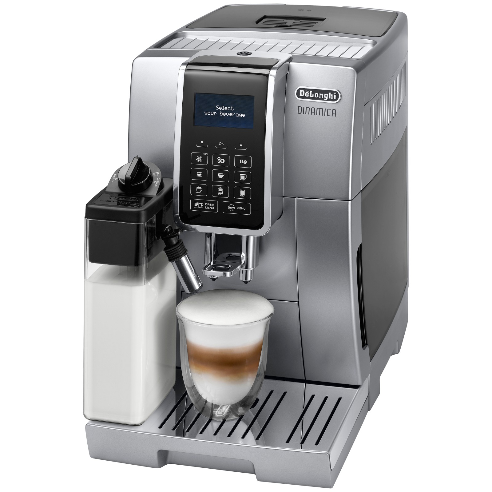 De'Longhi ECAM350.75.SB Dinamica Bean to Cup Coffee Machine