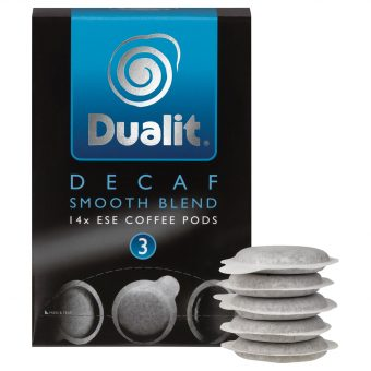 Dualit 15140 Smooth Decaf ESE Pods