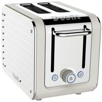 Dualit Architect 2-Slice Toaster Canvas White