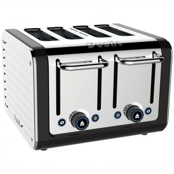 Dualit Architect 4-Slice Toaster Polished Steel / Black