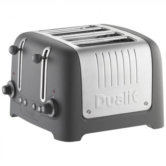 Dualit Lite 4-Slice Toaster with Warming Rack Granite