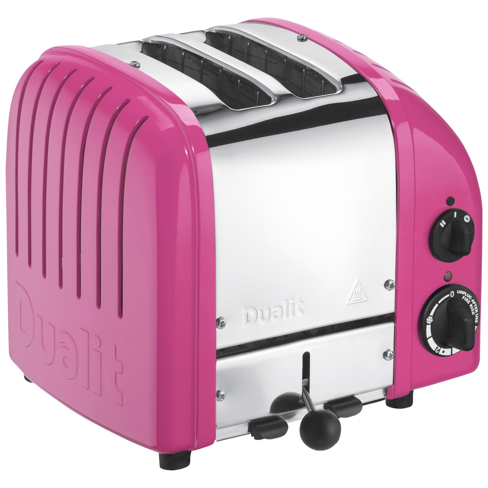Dualit Made to Order Classic 2-Slice Toaster Stainless Steel/Heather Violet Gloss