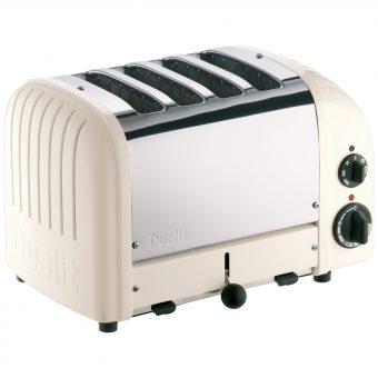 Dualit NewGen 4-Slice Toaster Canvas White
