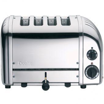 Dualit NewGen 4-Slice Toaster Polished Steel