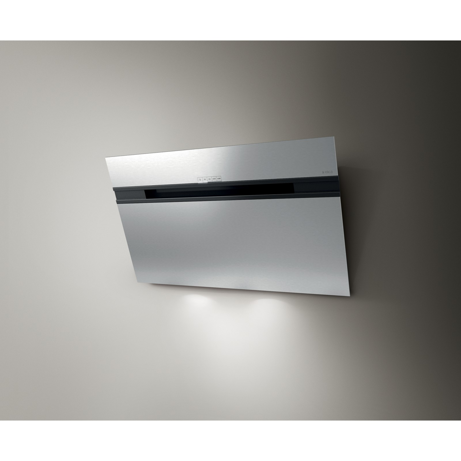 Elica Ascent 90cm Wall Mounted Chimney Cooker Hood Stainless Steel