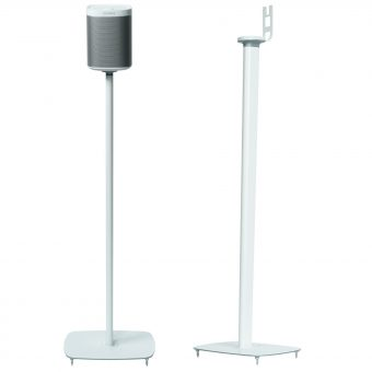 Flexson Sonos PLAY:1 Floor Stands (Pair) White