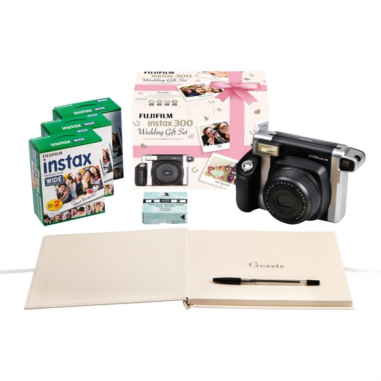 Fujifilm Instax 300 Wedding Pack with Instant Camera