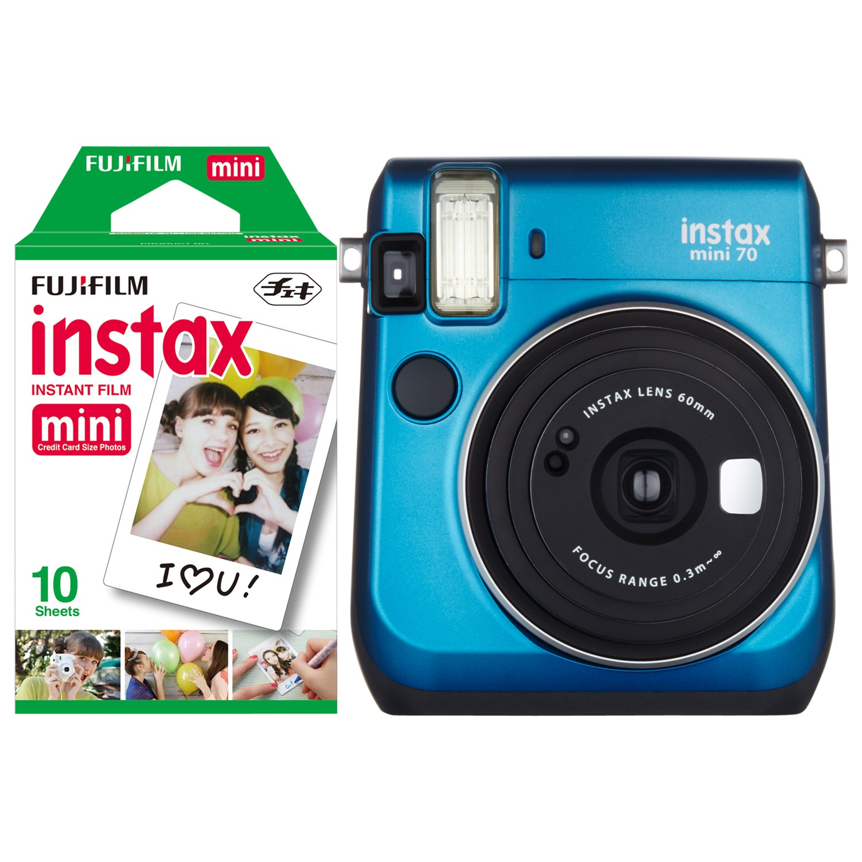 Fujifilm Instax Mini 70 Instant Camera With 10 Shots Of Film