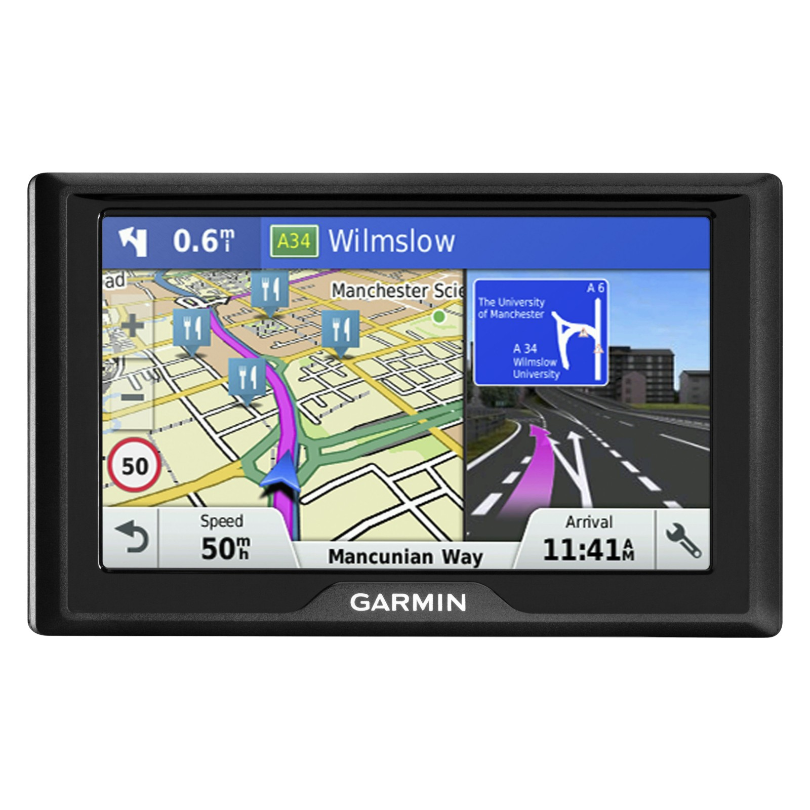 Garmin Drive 60LM Sat Nav With Lifetime Map Updates