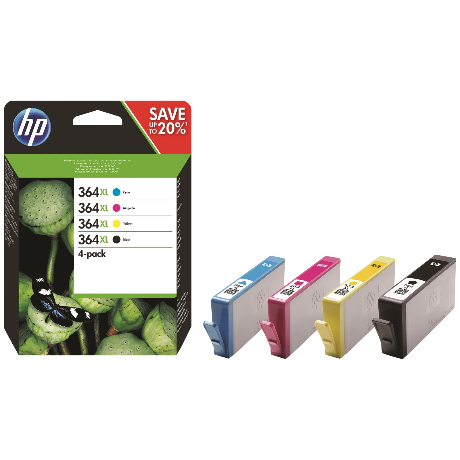 hp 364 xl ink cartridge multipack pack of 4 review best buy review. Black Bedroom Furniture Sets. Home Design Ideas