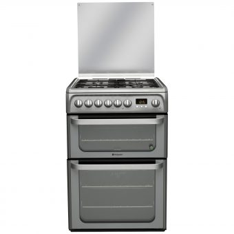 Hotpoint HUD61GS Dual Fuel Cooker