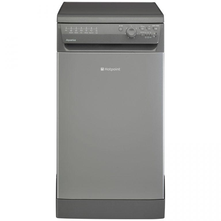 Hotpoint SIAL11010G Freestanding Slimline Dishwasher