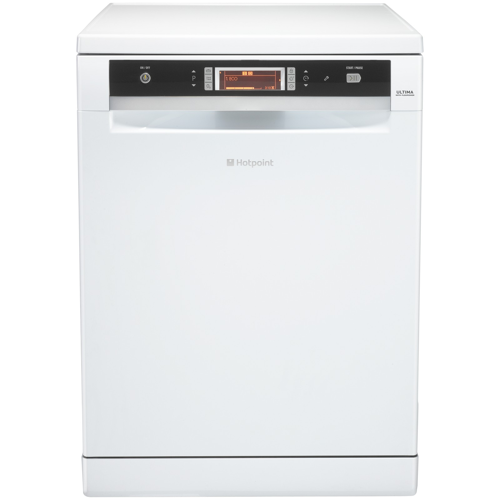 Hotpoint Ultima FDUD51110P Freestanding Dishwasher