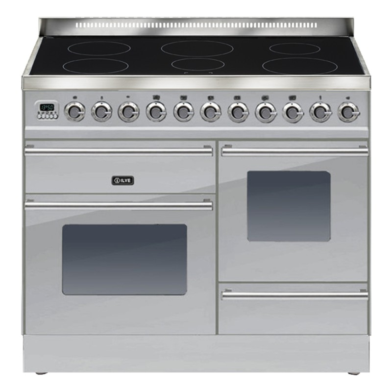 Best Induction Cookers ~ Ilve roma induction freestanding range cooker stainless