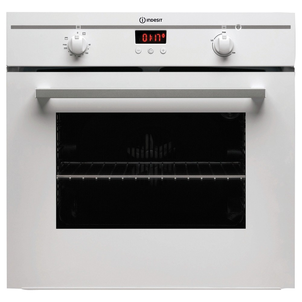 Indesit FIM33KAWH Single Electric Oven