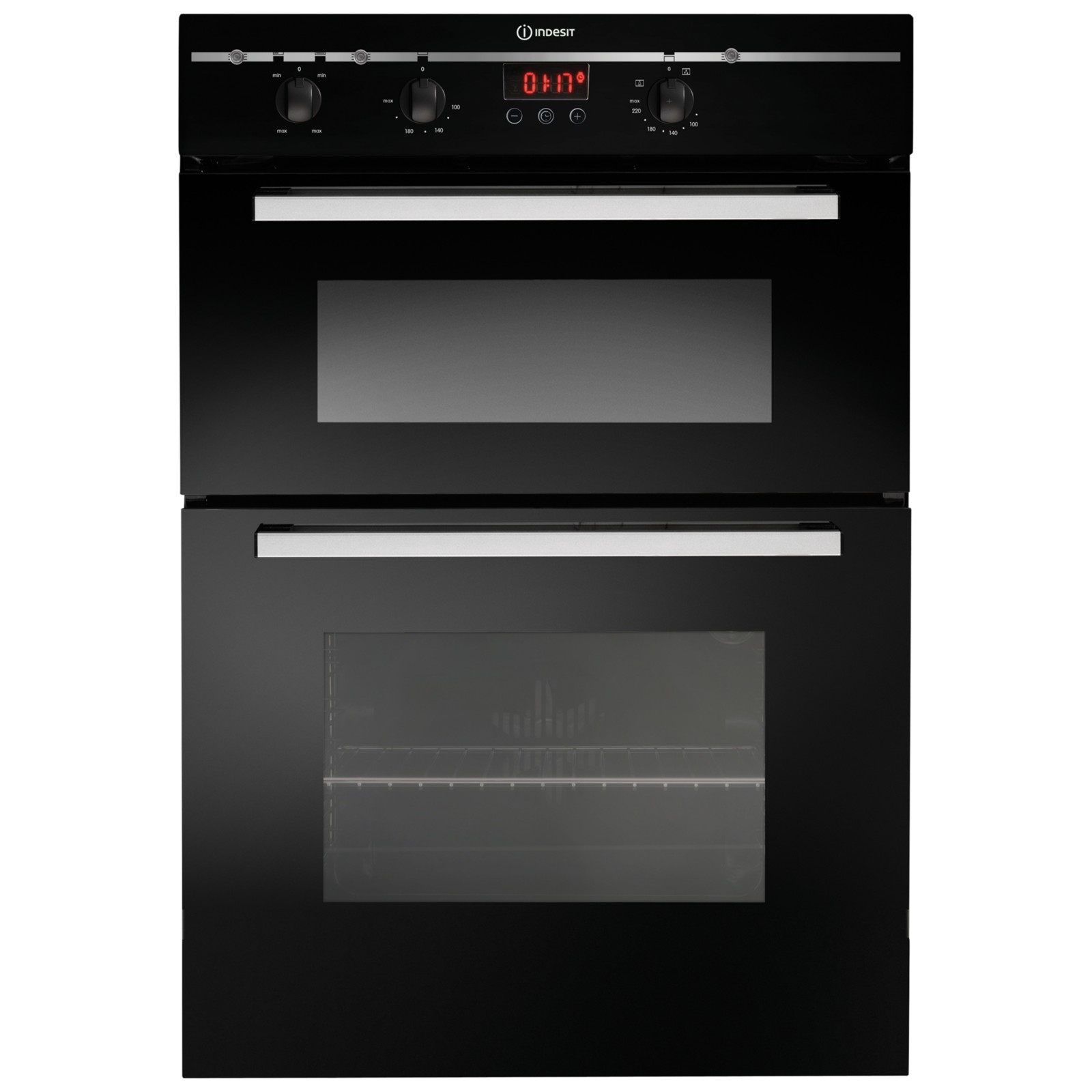 Indesit FIMD23BKS Double Electric Oven