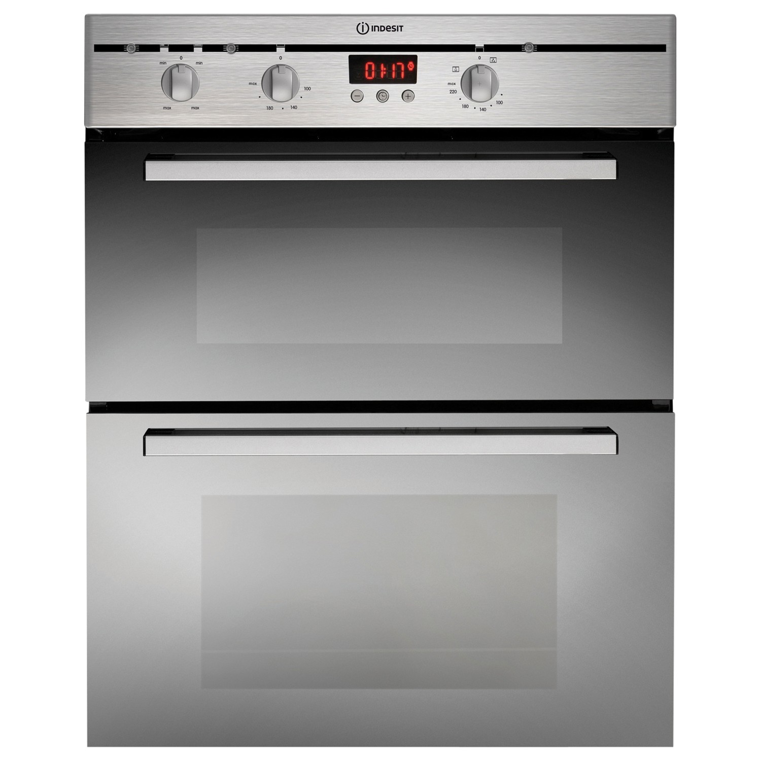 Indesit FIMU23IX Double Electric Oven