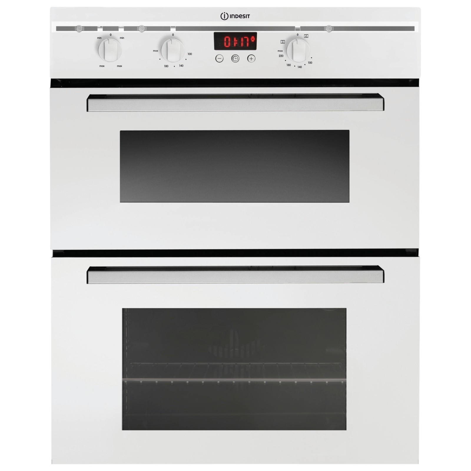 Indesit FIMU23WH Double Electric Oven