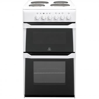 Indesit IT50EWS Electric Cooker