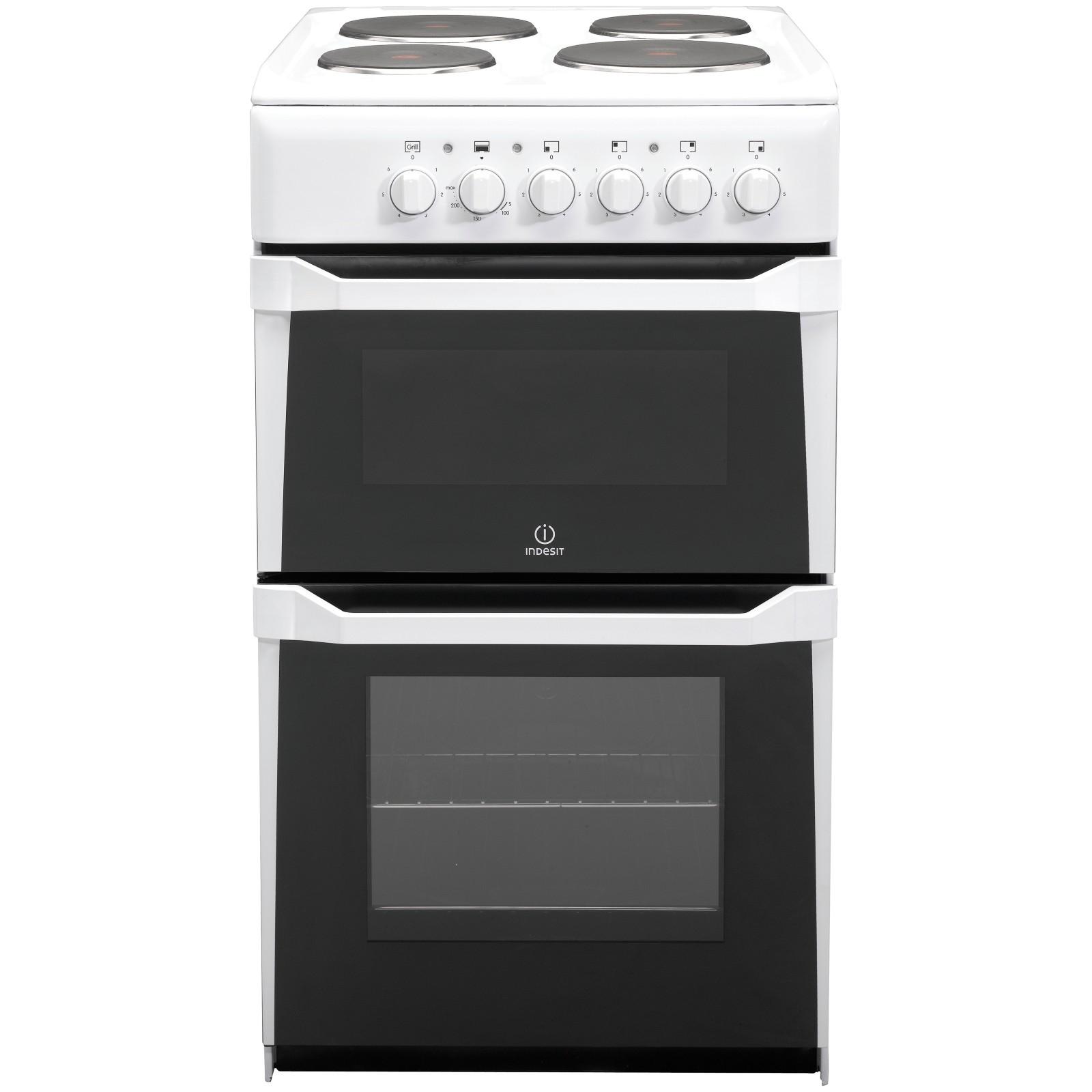 Indesit IT50EWS Electric Cooker