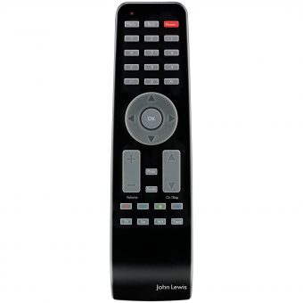 John Lewis 2-In-1 Remote Control