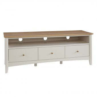 John Lewis Alba TV Stand Soft Grey