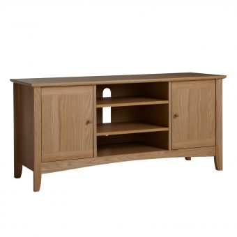 "John Lewis Alba TV Stand for TVs up to 40"" Oak"