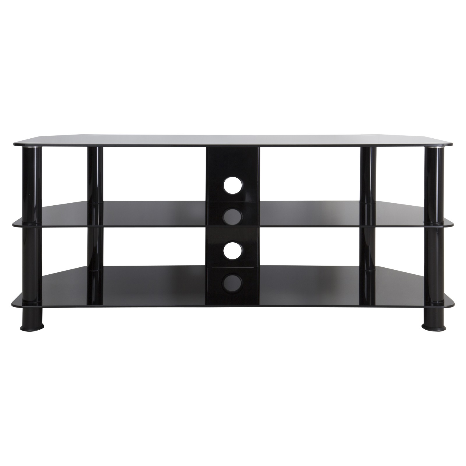 """John Lewis GP1140 TV Stand for TVs up to 55"""" Black"""