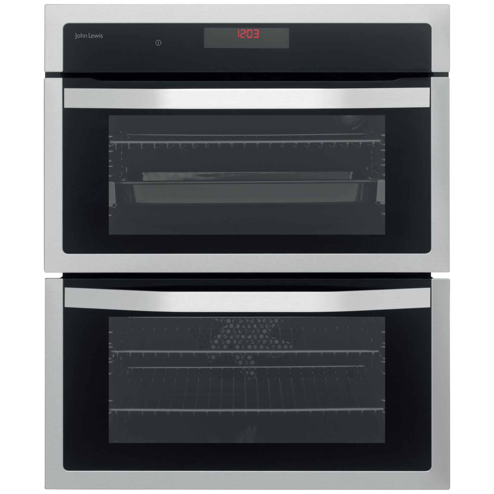 John Lewis JLBIDU713 Double Built-Under Electric Oven